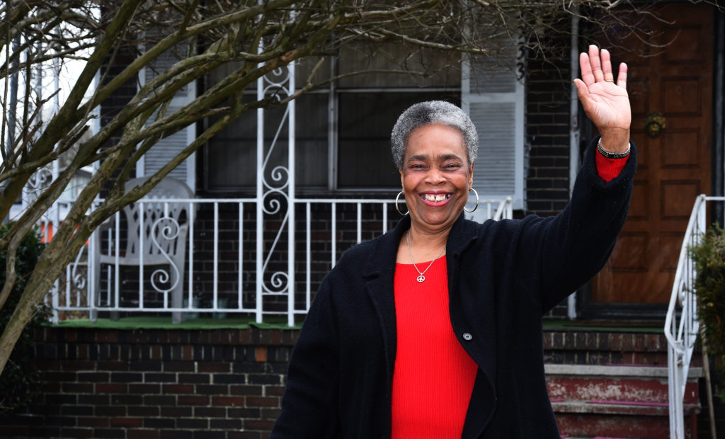 Willa M. Cole, president, Harriman Park Neighborhood Association (Mark Almond, The Birmingham Times)