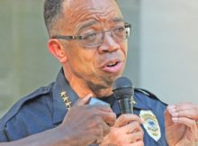 irmingham Police Chief A.C. Roper has spoken numerous times about what he believes are the reasons behind the current spike in violence. Most recently, he was on a panel for a Crime and Economic Town Hall Meeting at the YMCA on Red Lane Road in Roebuck. (Ariel Worthy, The Birmingham Times)
