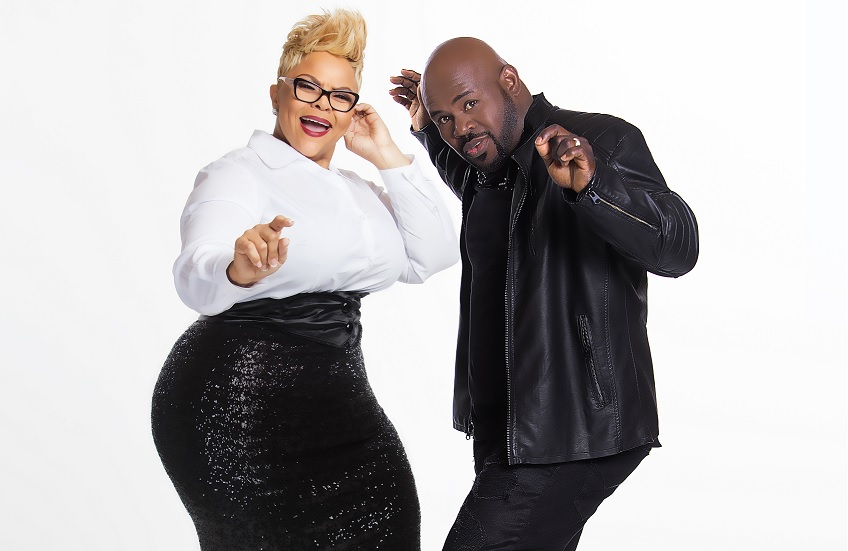 The Mann's World Family Tour, featuring Tamela Mann, her husband and comedian David Mann, and two of their four children, Tia and David Jr., will make its stop in downtown Birmingham at the Boutwell Auditorium April 1. (Provided photo)
