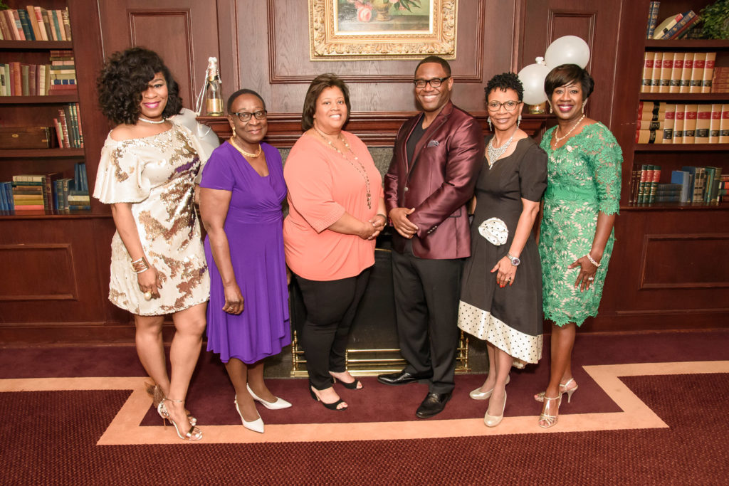 The Tri-County (AL) Chapter of The Links 2017 Model Honorees from left: Iyishia Jones, Pauline Jolly ,Ph.D, Cecilia Person, Alvin Garrett, Sandra Ford M.D., Tracey Morant-Adams for Renasant Bank. (Provided photo)