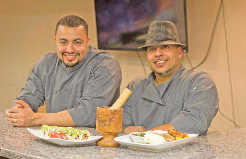 Juan Beras left and Luis Delgado plan to open Miami Fusion Cafe in May. Reginald Allen, for The Birmingham Times