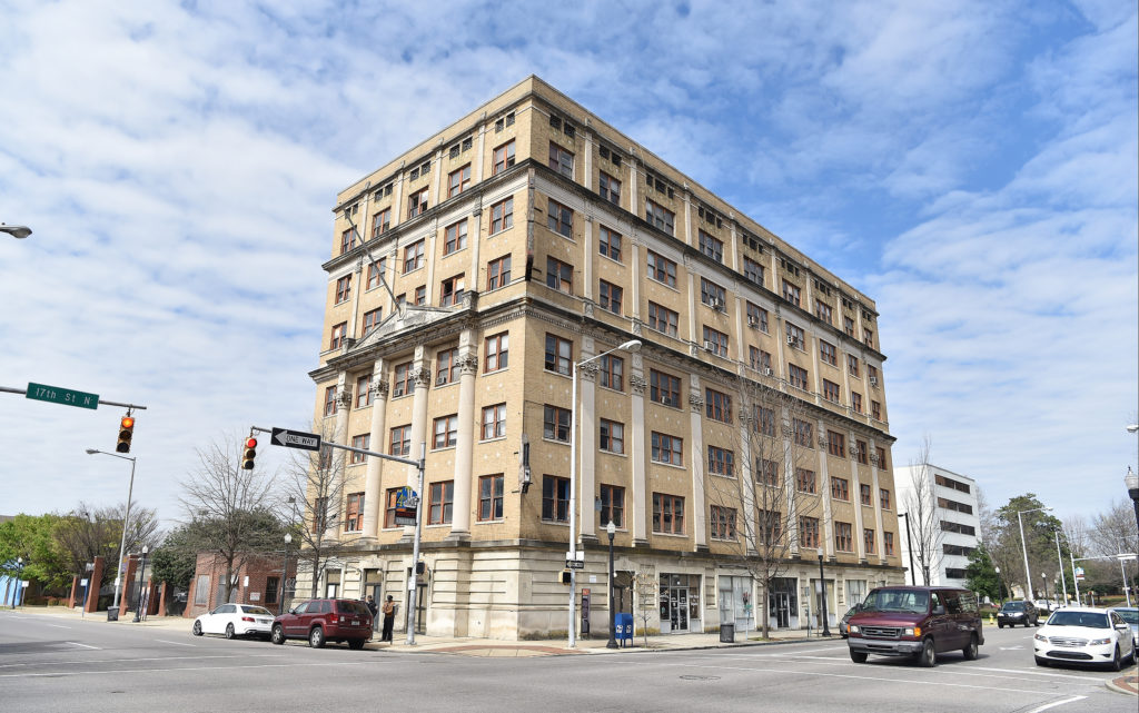 Efforts to restore the Prince Hall Grand Lodge of Alabama building on 4th Avenue North in Birmingham are underway. Built in 1922 historic building was once teaming with professional offices for attorneys and health care providers serving the black community in Birmingham. (Frank Couch, The Birmingham Times)