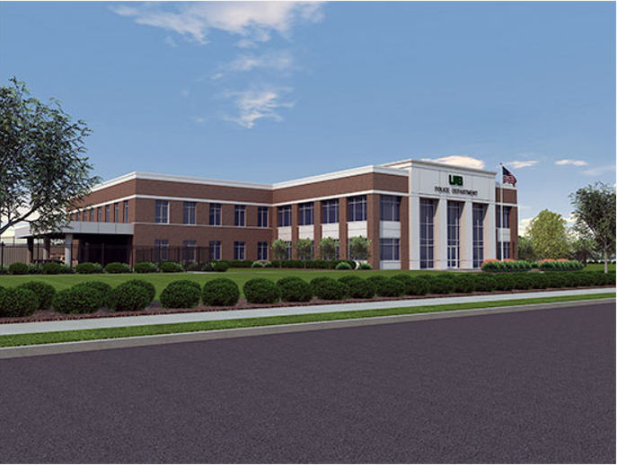 UAB President Ray Watts says the new facility will provide a state-of-the-art space for all police operations and room to accommodate continued growth of the department. (Provided rendering)