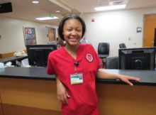 Gabrielle Mallory is completing her internship at UAB Hospital. (Provided photo)