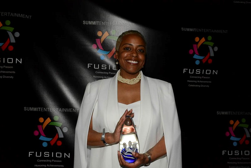 Energizer Award winner Kellie Solomon, executive administrative assistant to Mayor William A. Bell, Sr. and director of My Brother's Keeper with the city of Birmingham. (Stephonia Taylor McLinn photo).