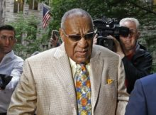 Bill Cosby arrives for jury selection in his sexual assault case at the Allegheny County Courthouse, Monday, May 22, 2017, in Pittsburgh. The case is set for trial June 5 in suburban Philadelphia. (AP Photo/Gene J. Puskar)
