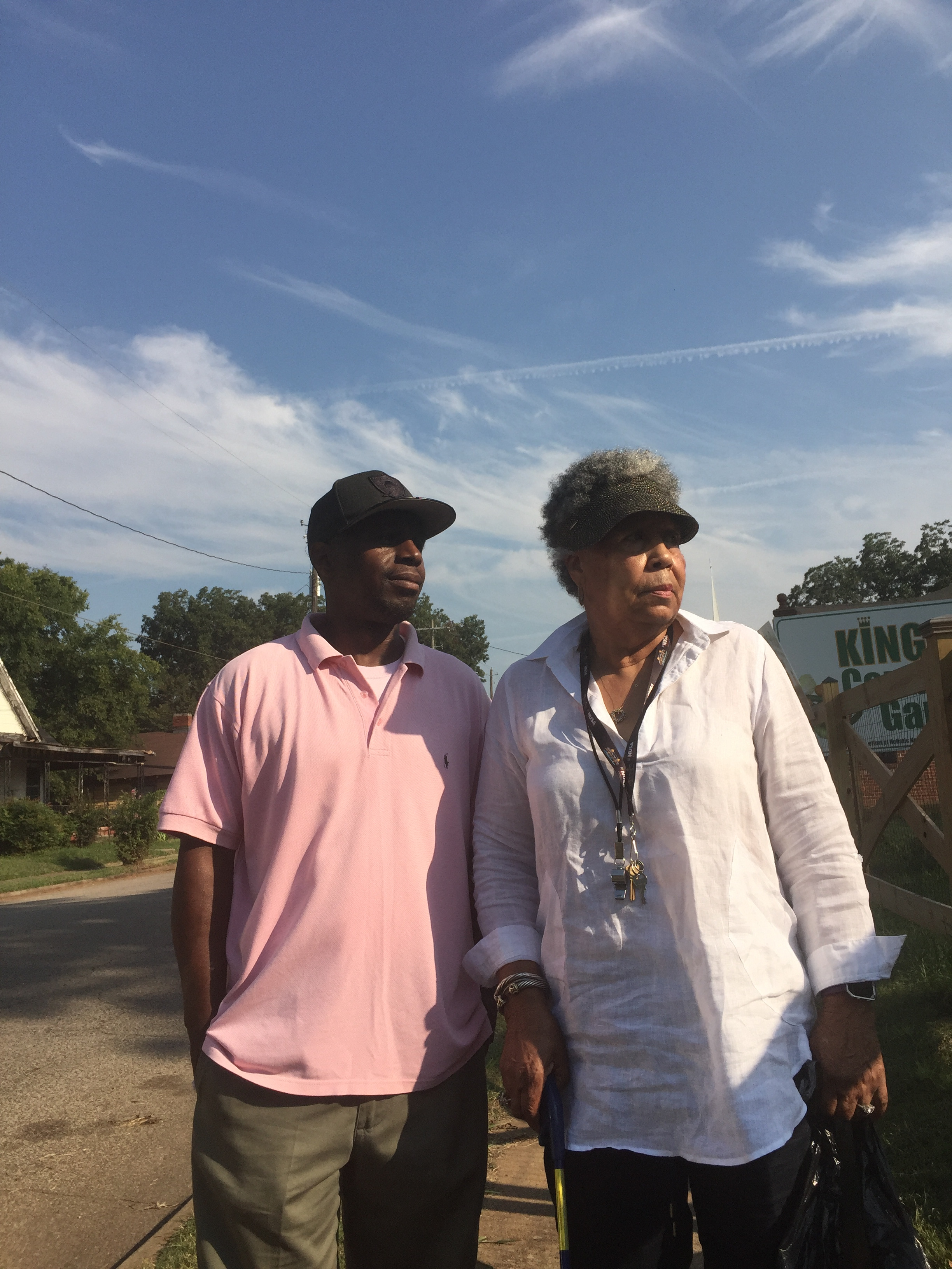 Two leaders in Kingston unite around community garden, other