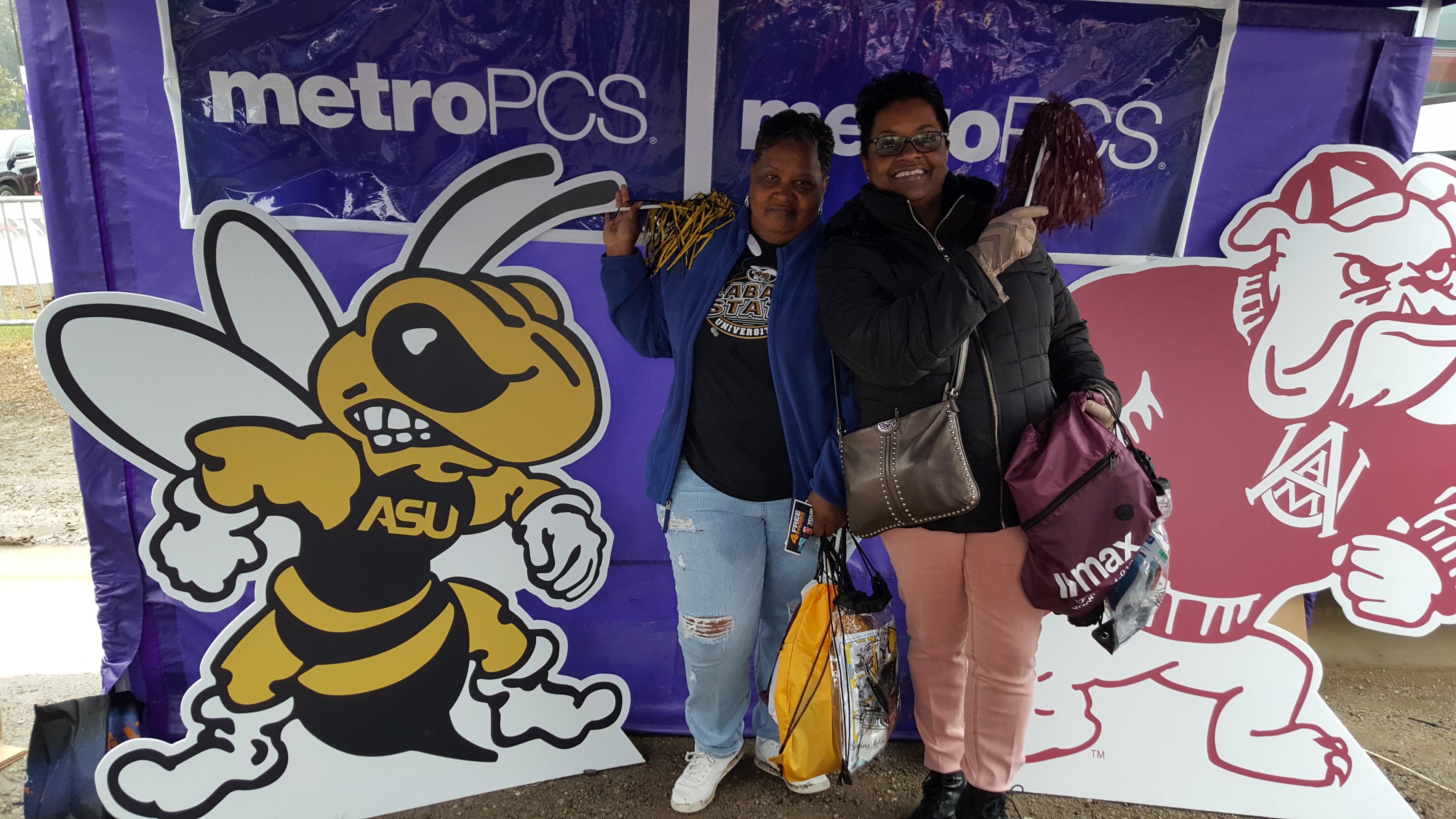 Metro PCS at the Magic City Classic! | The Birmingham Times