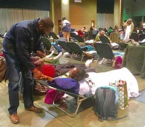 Generosity from volunteers help feed hundreds in warming