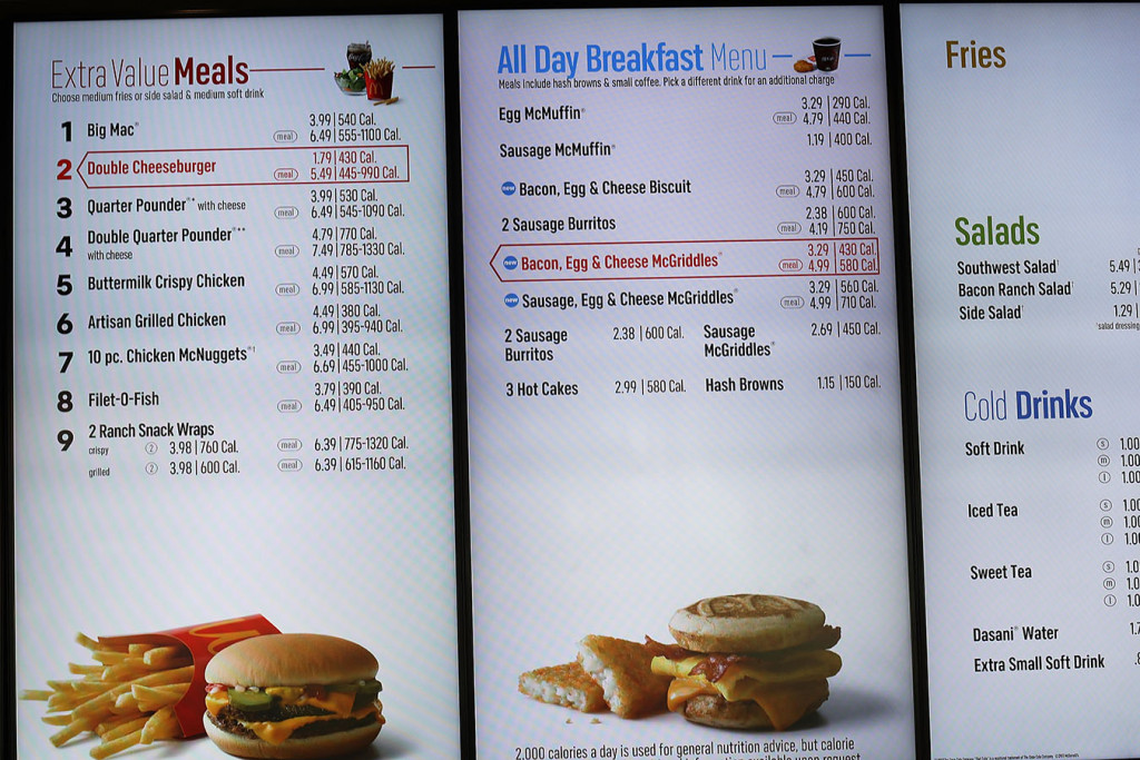 menu labeling Vgs has over 30 years of experience designing and fabricating menu boards, sign systems, and displays, as well as custom signage and fixtures the fda finalizes menu labeling standards.
