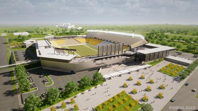Birmingham starting work on new $175 million stadium at ...