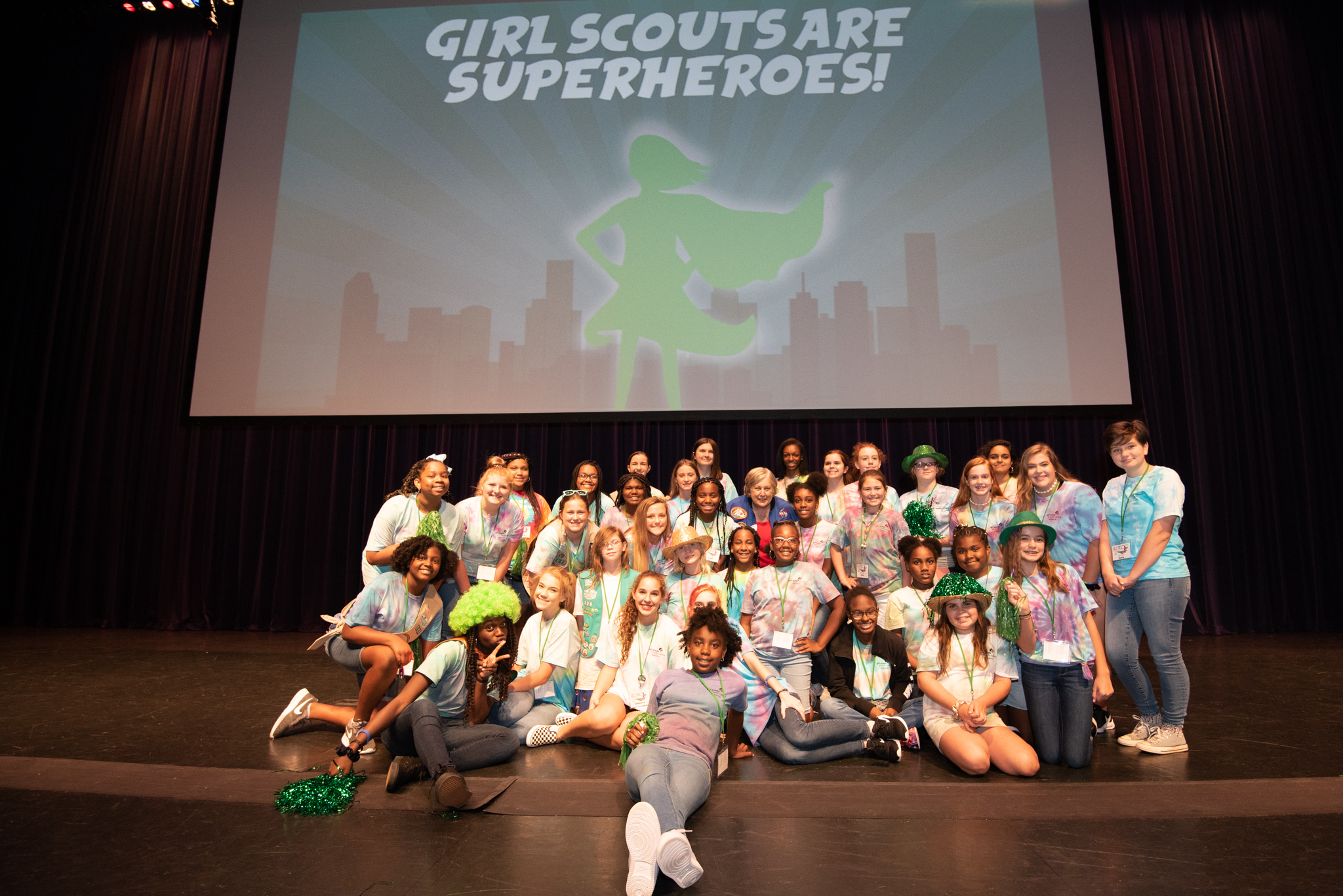 Girl Scouts Gather in Birmingham For Leadership Summit