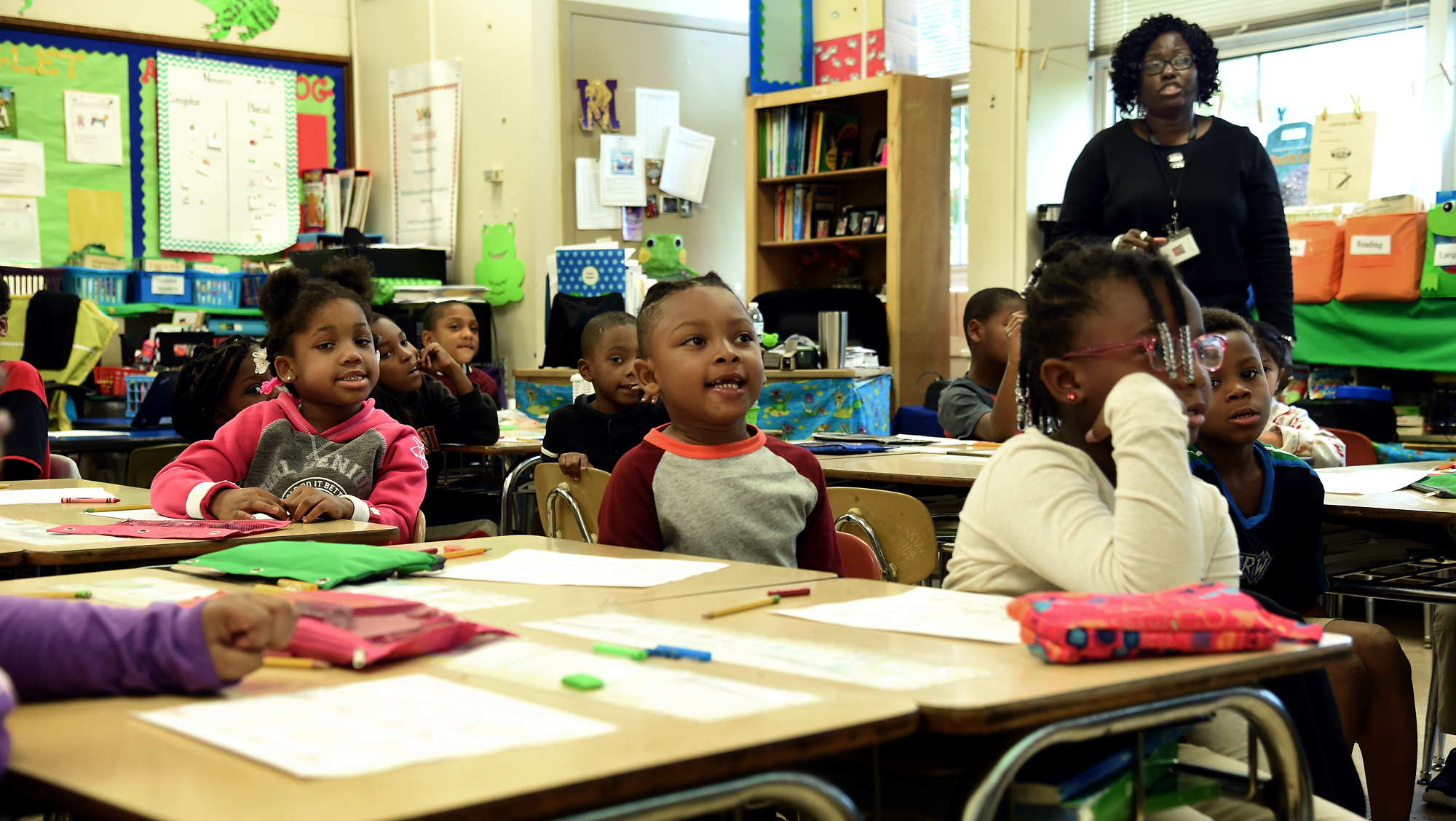 Barrett Elementary Was Once Considered A 'Failing' School. Not Anymore.