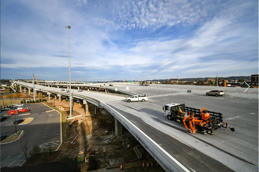 State and local officials cut ribbon on reopened I-59/20 bridges