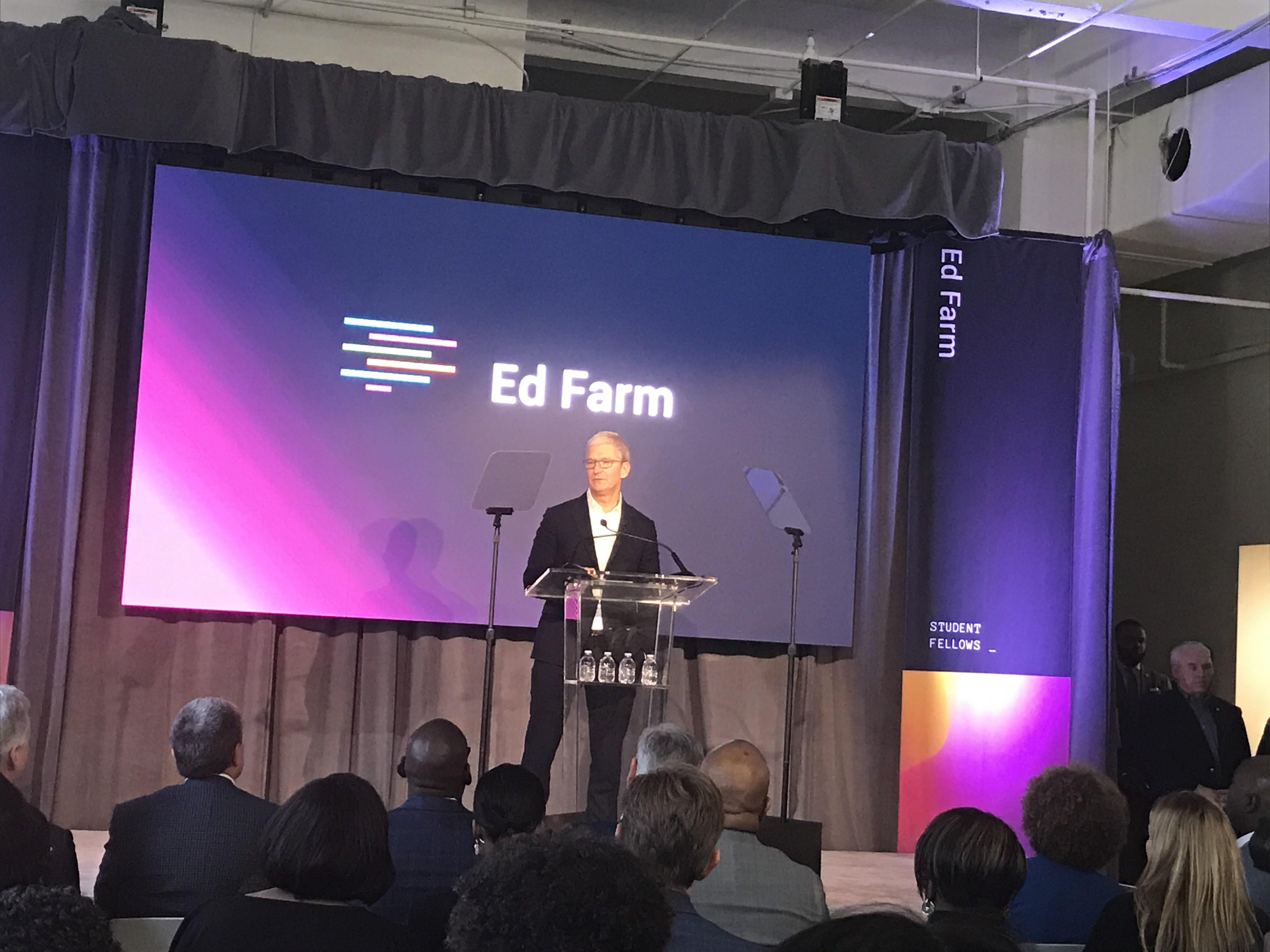 Apple's CEO in Birmingham to launch groundbreaking tech program