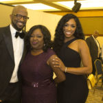 Rickey Smiley poses with attendees Feb. 11 at the Sickle Cell Foundation of Central Alabama's annual gala.