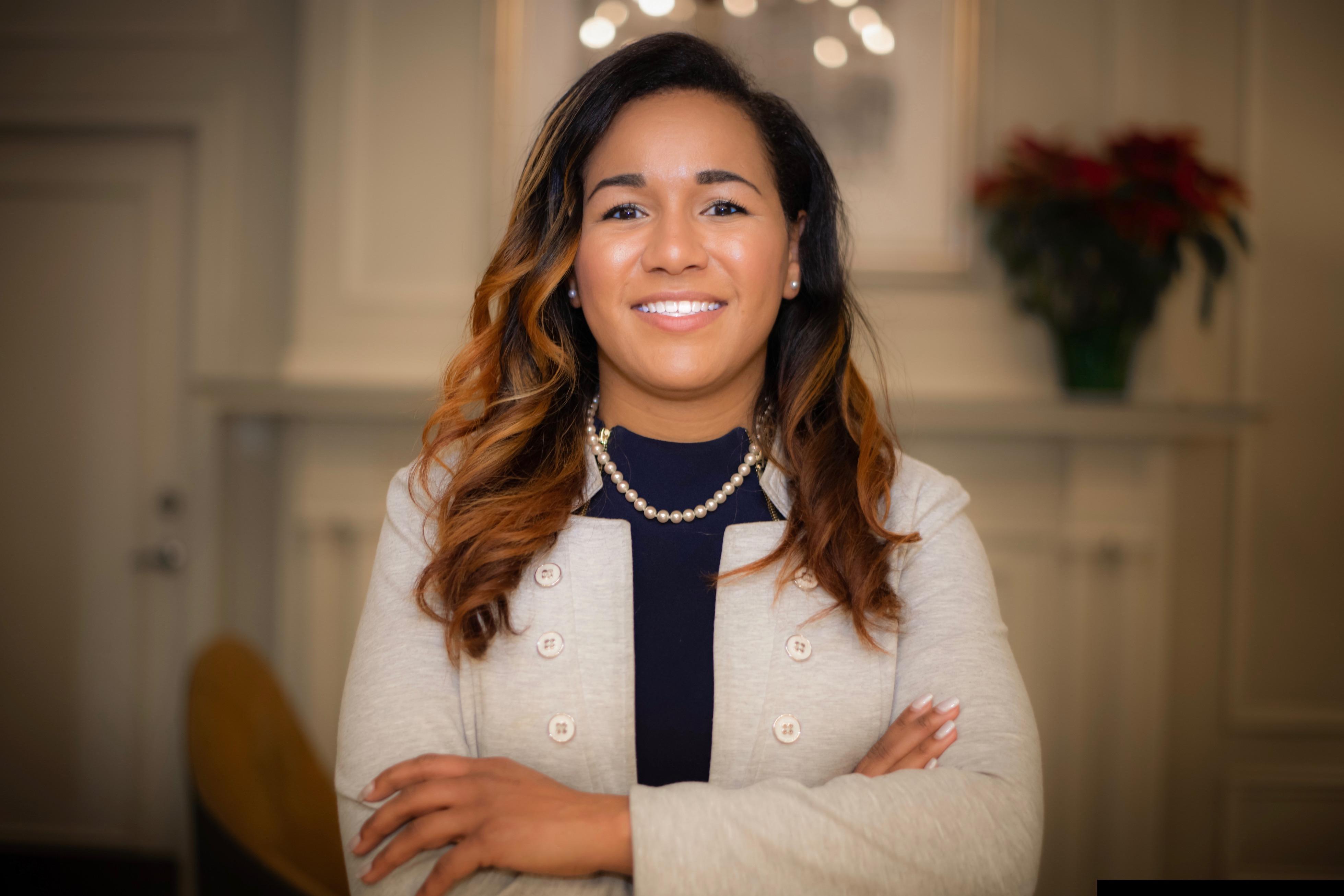 Meet Tiffany Alexander, 27, administrator of a pediatrics urgent
