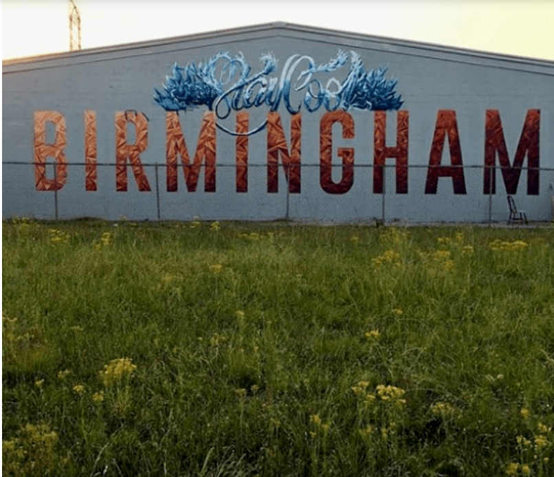 University Flats Birmingham Al: Photos Of Every Mural That We Could Find In Birmingham